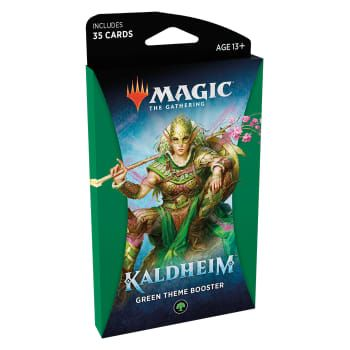 Magic Kaldheim Theme Booster Green