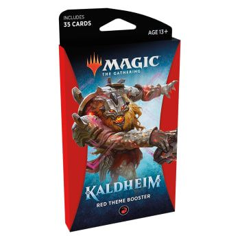 Magic Kaldheim Theme Booster Red