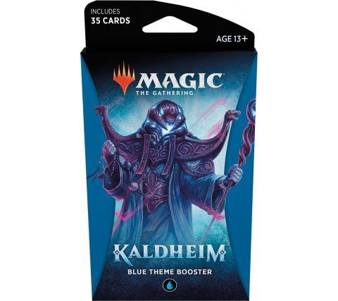 Magic Kaldheim Theme Booster Blue