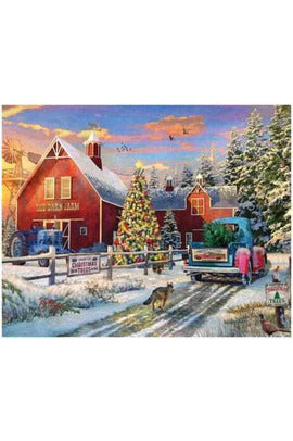 red-barn-tree-farm-puzzle-springbok-0091683109081-thegamersden.com