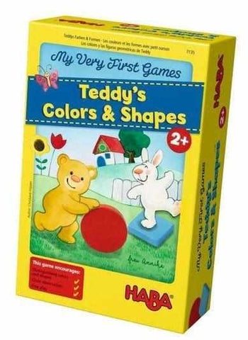 Teddy's Colors and Shapes