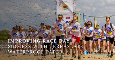 Improving Race Day Success With TerraSlate Waterproof Paper