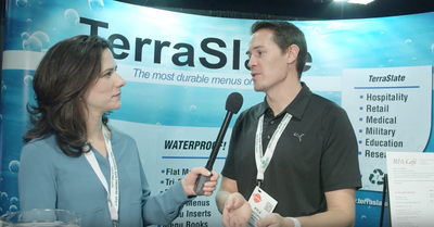 TerraSlate Menus Interview with Kyle Ewing - Colorado Restaurant Trade Show
