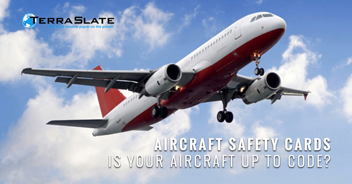 Aircraft Safety Cards: Is Your Aircraft Up To Code?