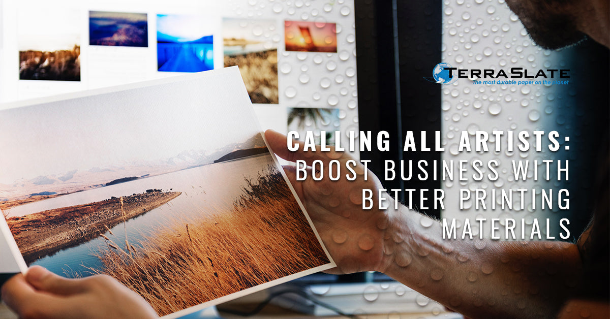 Calling All Artists: Boost Business With Better Printing Materials