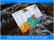 "10 Mil Waterproof Copy Paper 13"" x 19"" - TerraSlate Waterproof Paper"
