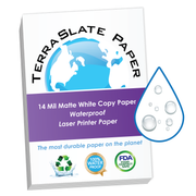 "14 Mil Waterproof Copy Paper 8.5"" x 14"" Legal Size"