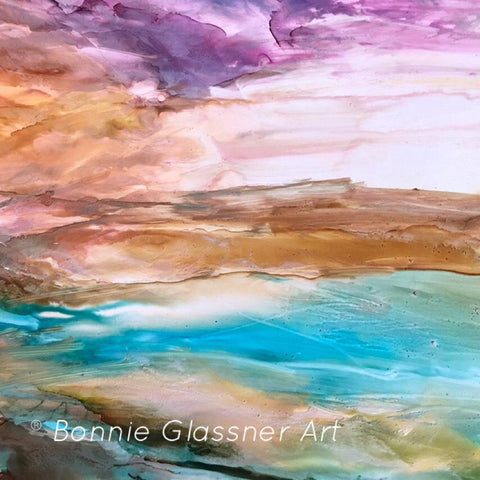 "7 Mil Alcohol Ink Art - 8.5"" x 11"" - TerraSlate Waterproof Paper"