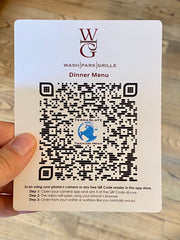 TerraSlate Touchless QR Menu Samples