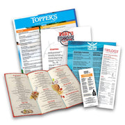 Restaurant Menu Sample Pack - TerraSlate Waterproof Paper
