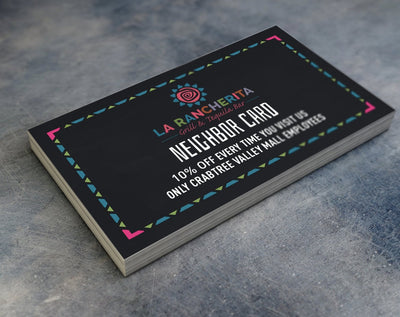 Waterproof Business Cards - TerraSlate Waterproof Paper