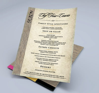 Takeout Menus, Disposable Menus & To-Go Menus