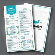 Disposable Menus, Takeout Menus & To-Go Menus