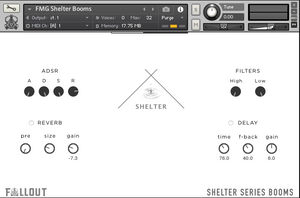 Shelter Series Booms