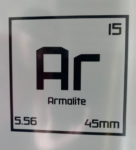 AR Elements Decal