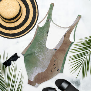 Retreat One-Piece Swimsuit in Coco Beach