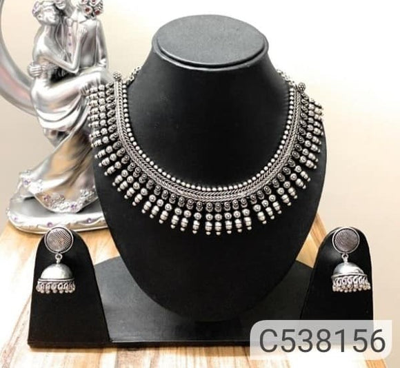 Oxidized Jewellery Set - Indien Boutique