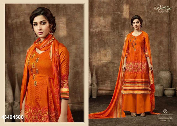 Kashmiri Pashmina Dress Materials - Indien Boutique