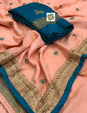 Dola Silk Designer Saree - Indien Boutique