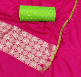 Mysore Silk and Jacquard Saree - Indien Boutique