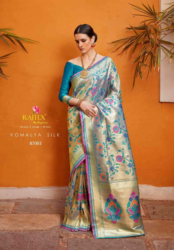Pure Paithani Silk Saree - Indien Boutique