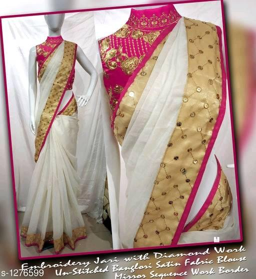 Chanderi Cotton Saree - Indien Boutique
