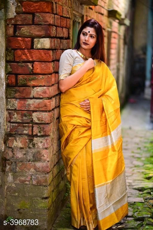 Solid Silk Sarees - Indien Boutique