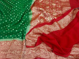 Khaadi Georgette Saree - Indien Boutique