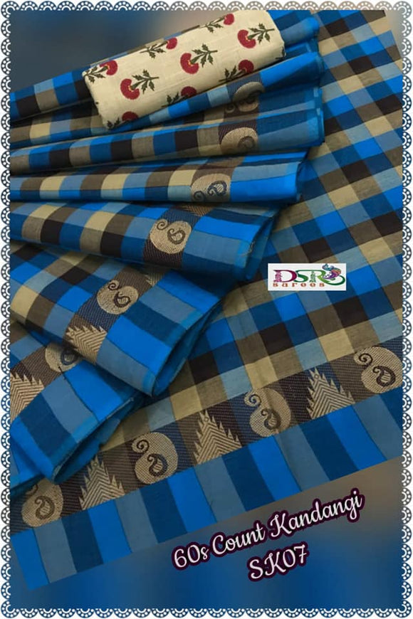 Chettinadu Cotton Saree Collection - Indien Boutique