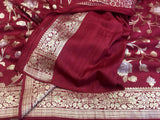Georgette Banarasi Silk Saree - Indien Boutique