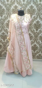 Jorba Silk Gowns - Indien Boutique