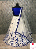Floral Embroidered Lehenga - Indien Boutique