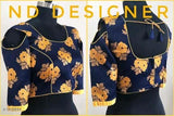 Jacqard Silk Blouse - Indien Boutique