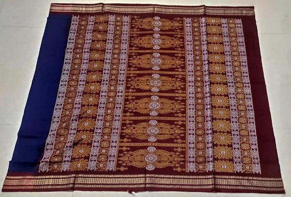 Sambalpuri Cotton Bomkai Saree - Indien Boutique