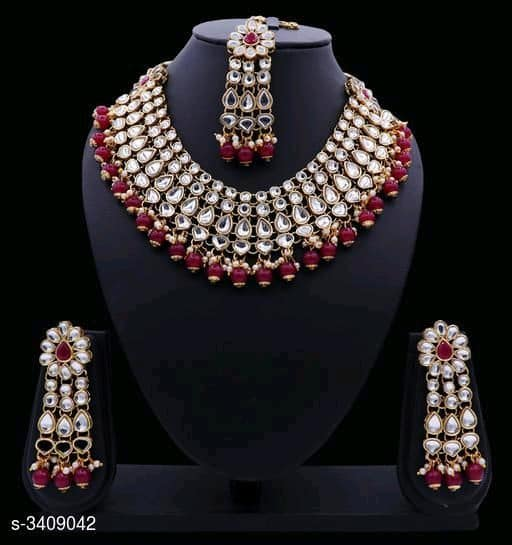 Beaded Kundan sets - Indien Boutique