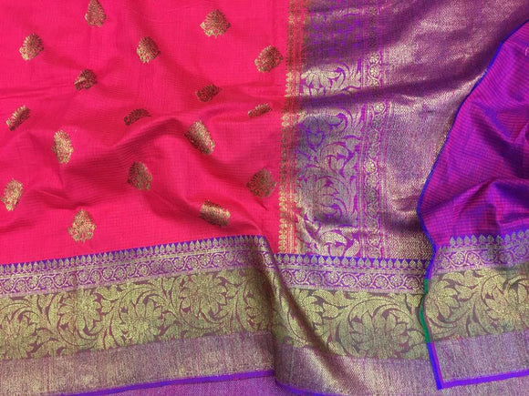 Dupion Silk Saree - Indien Boutique