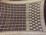 Black Bandhani Ghadchola Saree - Indien Boutique