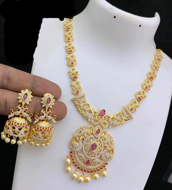 Stone Studded Chain Sets - Indien Boutique