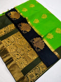 Upada Style Silk Cotton Sarees - Indien Boutique