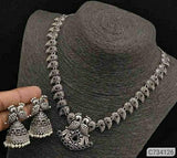 Ethnic Tribal Designed Oxidized Set - Indien Boutique