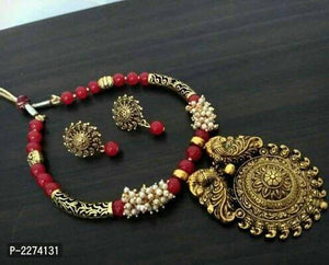 Oxidized Sets with Bead Work - Indien Boutique
