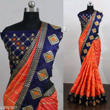 Embroidered Sana Silk Sarees - Indien Boutique