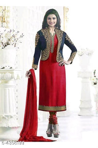 Coat design Salwar Suit Dress Material - Indien Boutique