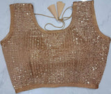 Sequinned Sleeveless Blouse - Indien Boutique
