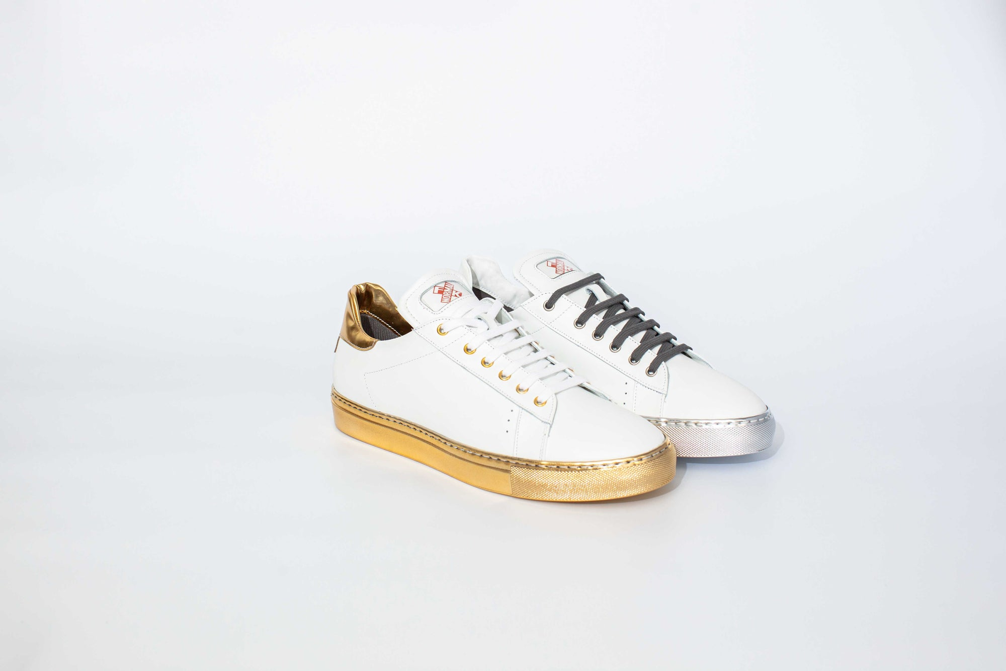 FK NORMAL GOLD AND SILVER TENNIS TRAINERS