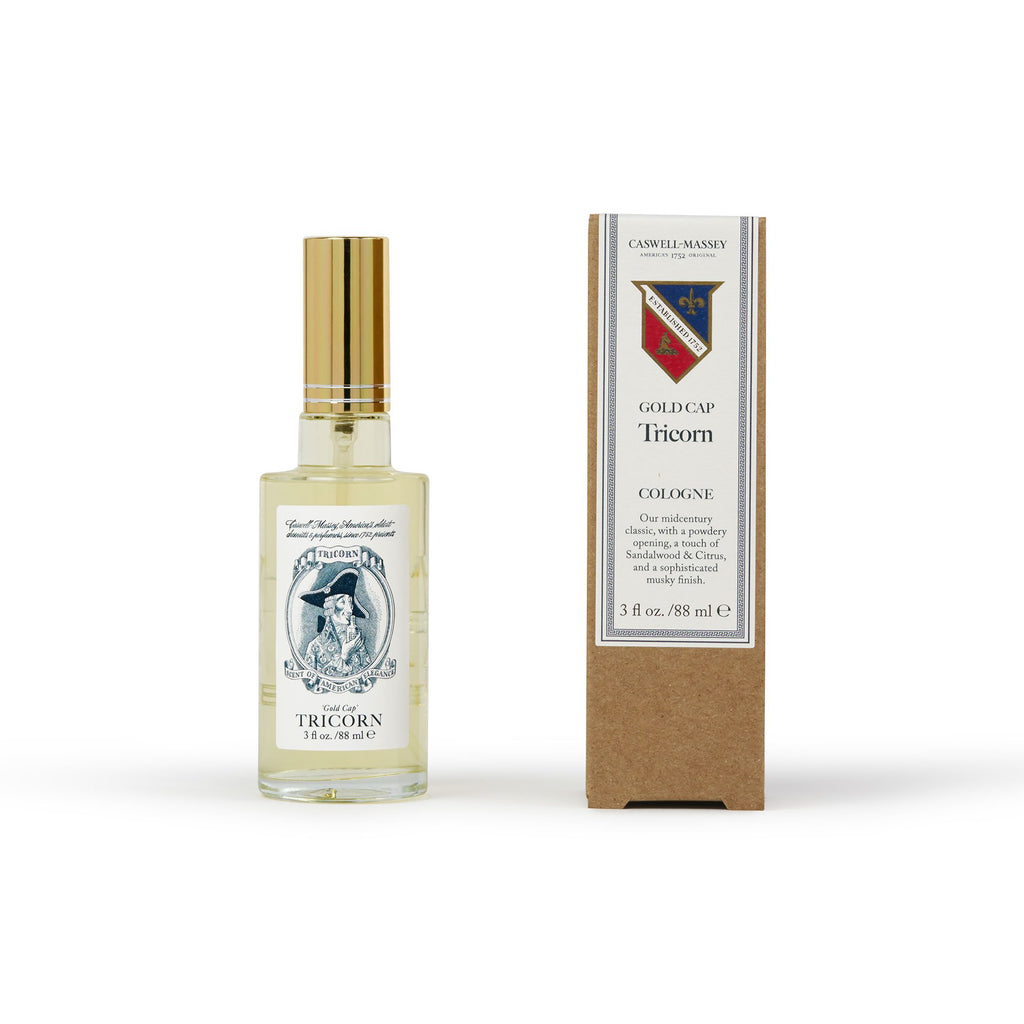 Gold Cap Tricorn Cologne