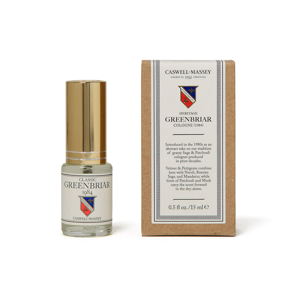Heritage Greenbriar 15ML Travel Cologne