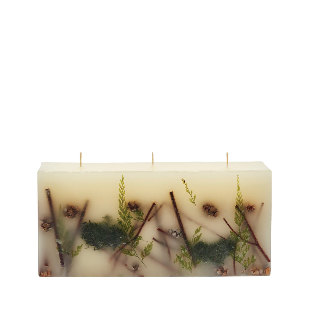 Rosy Rings - Brick Botanical Candle Forest