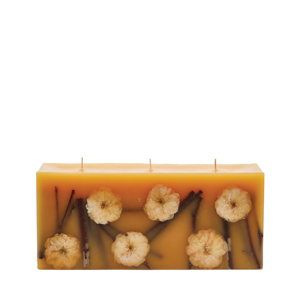 Rosy Rings - Brick Botanical Candle Honey Tobacco