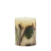 "Rosy Rings - Small (5.5""HX4.5""D) Round Botanical Candle Forest"